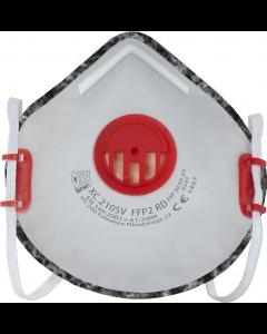 Półmaska filtrująca wielokrotnego użytku z zaworem XC 210 SV FFP2 R D, 8 szt.
